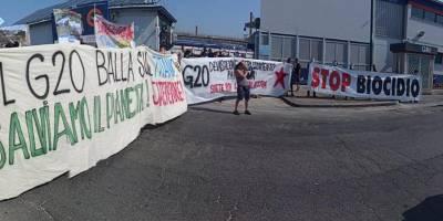 Napoli, parte il G20 è già protesta