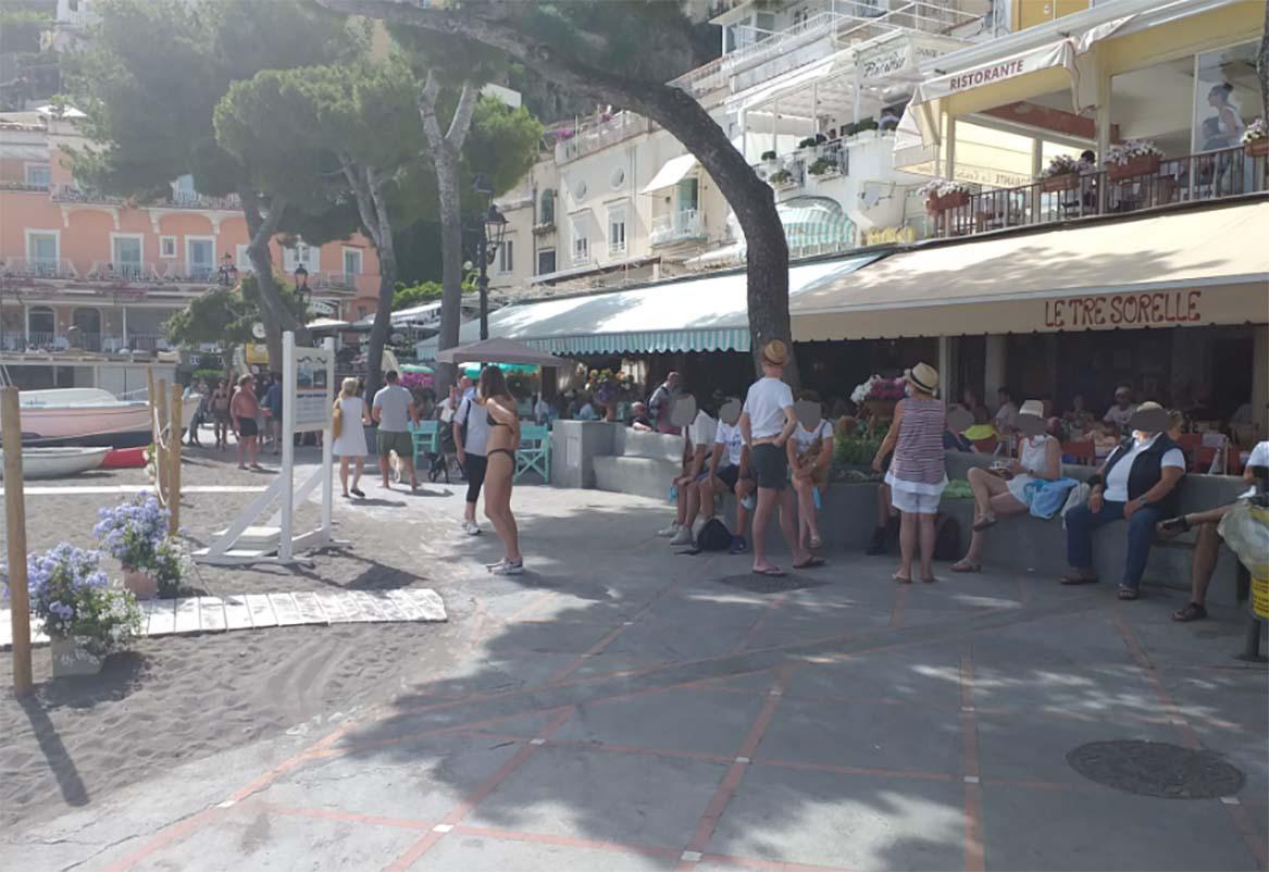 Covid a Positano: chiuso il ristorante dei Vip