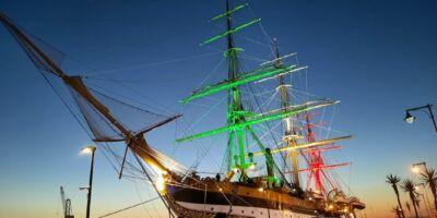 La nave Amerigo Vespucci compie 90 anni